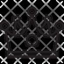 King Crown Game Icon