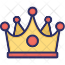 King Crown Game Icon