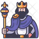 King Medieval Crown Icon