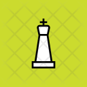 King Chess Piece Icon