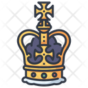 Icrown King Crown Golden Crown Icon