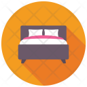 Bedroom Bed Double Icon
