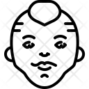 Kinky Mohawk Punk Icon