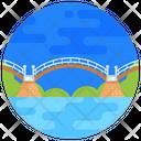 Kintai Bridge Japan Bridge Footbridge Icon