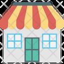 Kiosk Market Shop Icon