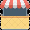 Kiosk Market Retail Icon