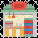 Kiosk Shop Food Icon