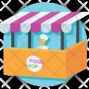 Kiosk Food Stand Icon