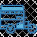 Food Street Truck Icon