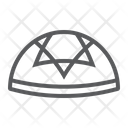 Kippah National Hat Icon