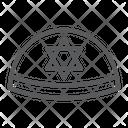 Kippah Rosh Hashanah Icon