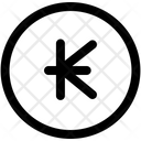 Kips Lao Currency Coin Icon