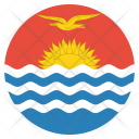 Kiribati National Country Icon