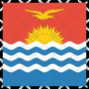 Kiribati National Country Icon