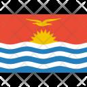 Kiribati Flag World Icon