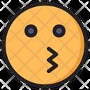 Kising Face Icon