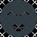 Kiss Emoji Face Icon
