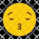 Kiss Emoji Smile Icon