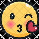 Kiss Love Icon
