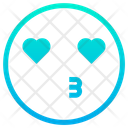 Kiss Romantic Romance Icon