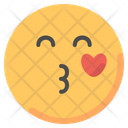 Kiss Kissing Emoji Icon