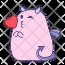 Wink Happy Love Icon