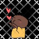 Love Heart Vee Icon