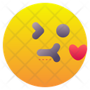 Kiss Kissing Emoticon Icon