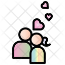 Kiss Valentine Heart Icon