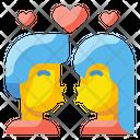 Kiss Love Romance Icon
