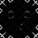 Kiss Emoji Eyes Icon