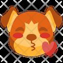 Kiss Emoji Emoticon Icon