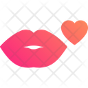 Kiss Lips Love Icon