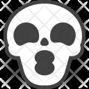 Kiss Skull Spooky Icon