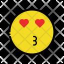 Kiss Smiley Emoticons Icon