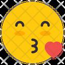 Kiss Emoji Emoticon Emotag Icon