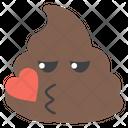 Kiss Poop Icon