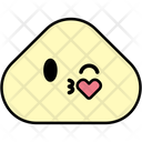 Kiss Heart Emoji Emoticon Icon