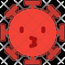 Kissing Coronavirus Emoji Coronavirus Icon