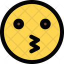 Kissing Face Icon