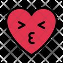 Kiss Love Heart Icon