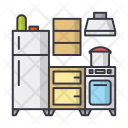 Kitchen Food Cooking Icon