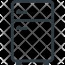 Kitchen Fridge Refregirator Icon