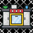 Kitchen Cookhouse Kitchenette Icon