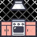 Home Room Kitchen Icon