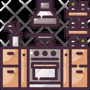 Fridge Furniture Kitchen Icon
