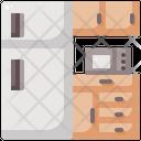 Fridge Microwave Icon