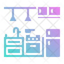 Kitchen Stove Gas Icon