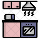 Kitchen Room Cooking Icon