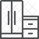 Furniture Interior Wardrode Icon